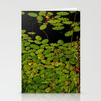 Sprinkles Of Green Stationery Cards