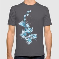Bleeding Orchid Mens Fitted Tee Asphalt SMALL