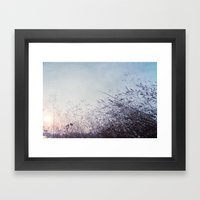 Blue Harvest 002 Framed Art Print