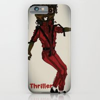 iPhone & iPod Case featuring Thriller by KNIfe