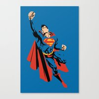 DC - Superman Canvas Print