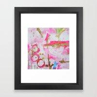 Pink Glam Framed Art Print