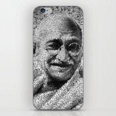 Homage To Gandhi iPhone & iPod Skin