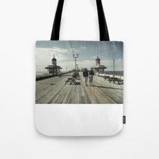 Blackpool North Pier Tote Bag