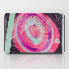 Abstract Green Pink iPad Case