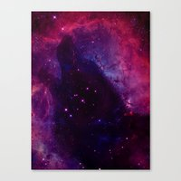 Space Wolf Canvas Print