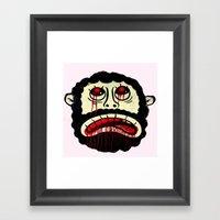 LEBARBU Framed Art Print