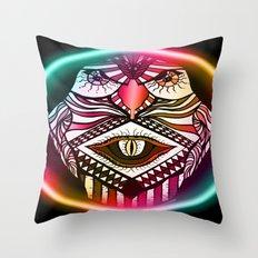 Night Hawk Throw Pillow