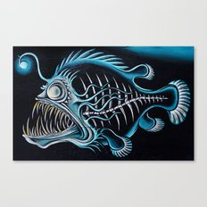 Beauty From The Dead Deep Canvas Print