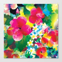 Hawaiian Jungle Canvas Print