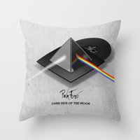 Pink Floyd - Dark Side of the Moon Throw Pillow