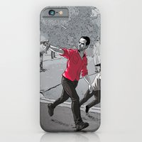 walking dead iPhone & iPod Cases featuring The Walking Dead by Steven P Hughes