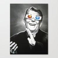 Reaganesque Canvas Print