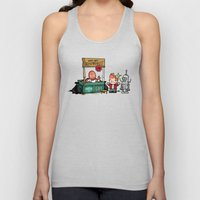 The Doctor Is In.... Why… Unisex Tank Top