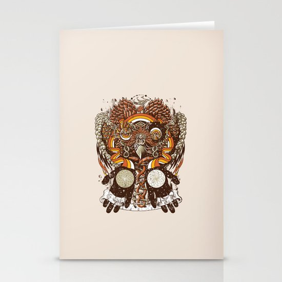 Dreams of a Feather Stationery Card