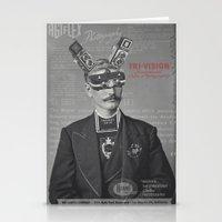 Mr Tri-Vision Stationery Cards
