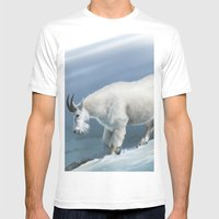 Winter(goat Snow) Mens Fitted Tee White SMALL