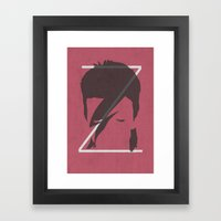 Z is for Ziggy Framed Art Print