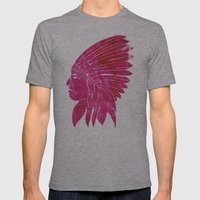 Chief Mens Fitted Tee Athletic Grey SMALL