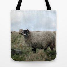 Yorkshire Dalesbred Sheep Tote Bag