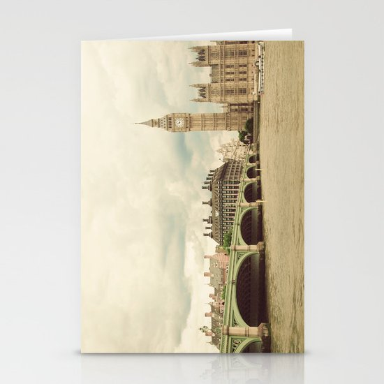 Big Ben Stationery Card