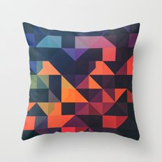 flyt nyce Throw Pillow