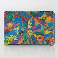 Crazy Dreams of Colour  iPad Case
