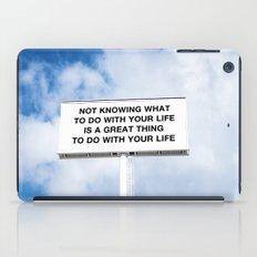 NOTKNOWING pt 2 iPad Case