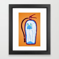Vans & Color Magazine Framed Art Print