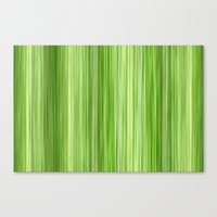 Ambient 3 In Lime Green Canvas Print