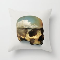 Memories live forever Throw Pillow