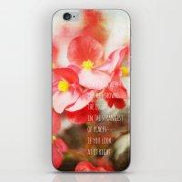 Scarlet Begonias iPhone & iPod Skin