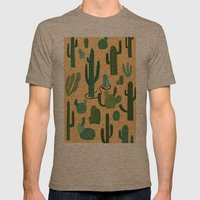 The Snake, The Cactus An… Mens Fitted Tee Tri-Coffee SMALL