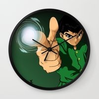 Yusuke Urameshi  Wall Clock