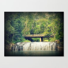 Waterfall at Cairns Canvas Print
