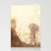 Dandelion Sunset Stationery Cards