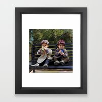 If I Knew, What I Know Now. Framed Art Print
