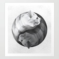 Catyang Art Print