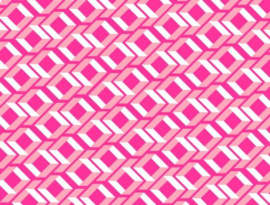 Pink Pattern Art Print