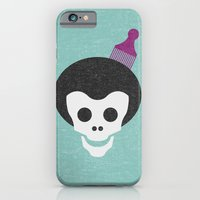 iPhone & iPod Case featuring Skull with Afro. by Nick Nelson