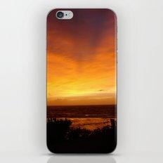 Sunset in Vanuatu iPhone & iPod Skin