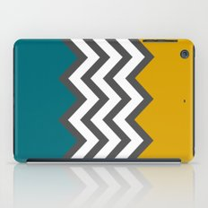 Color Blocked Chevron iPad Case