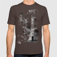 Gateway Mens Fitted Tee Brown SMALL