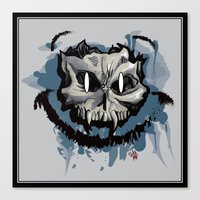 Happy Dead Guy Canvas Print