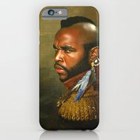 iPhone & iPod Case featuring Mr. T - replaceface by replaceface