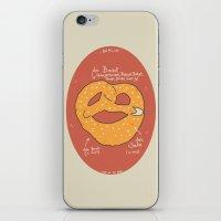Die Brezel iPhone & iPod Skin