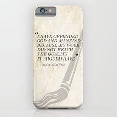 Famous Last words: Leonardo Da Vinci Slim Case iPhone 6s