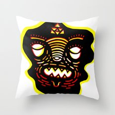 re edition Throw Pillow