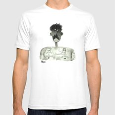 Remember Mary Mens Fitted Tee White SMALL