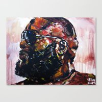 masterpiece for the #mastermind Canvas Print